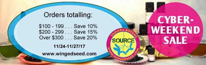 Samara Botane Cyber-Weekend Sale