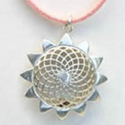 Aroma Jewelry Sunflower Pendant